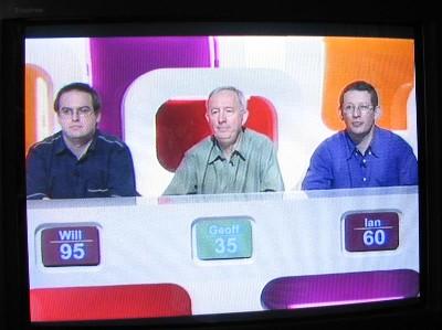 Three contestants