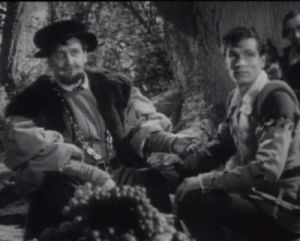 Henry Ainley and Laurence Olivier in As You Like It