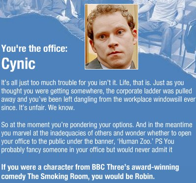 The office cynic